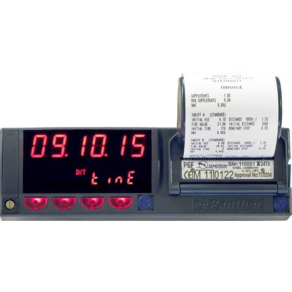 Ταξίμετρο Semitron Πάνθηρας P6F