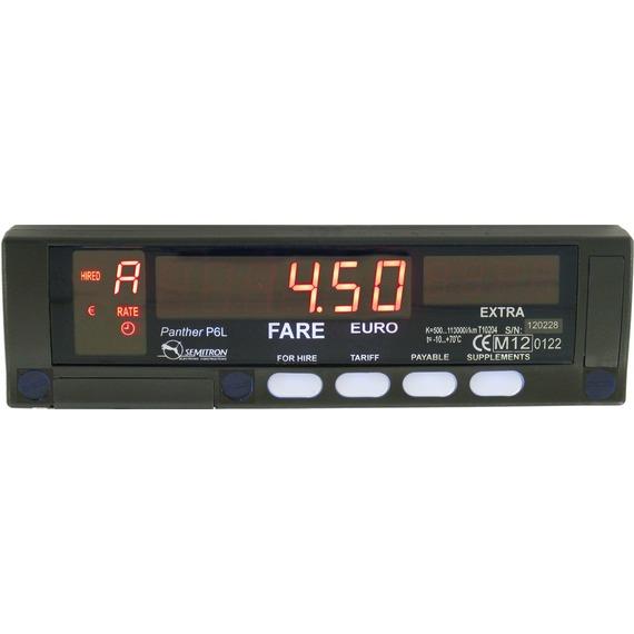 Ταξίμετρο Semitron Πάνθηρας P6L